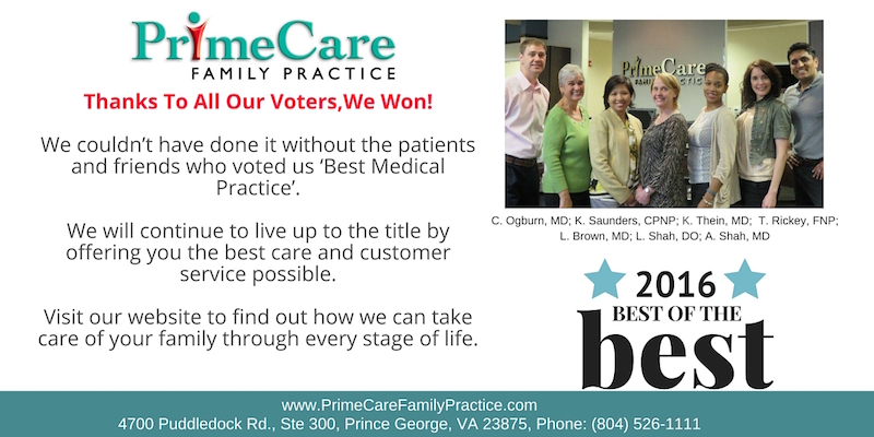 prime care family practice prince george
